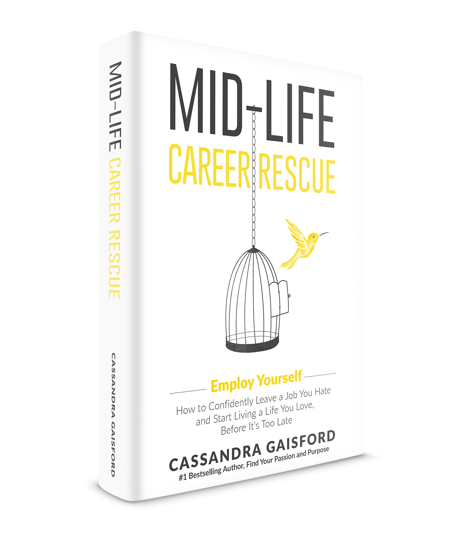 this is an edited extract from midlife career rescue employ yourself how to confidently leave a job you hate and start living a life you love