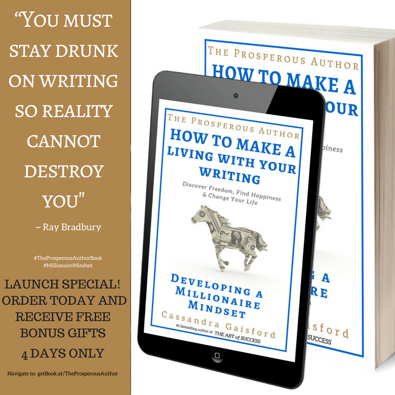 The prosperous author cassandra gaisford even if youre not an aspiring writer there are loads of mindset strategies in the prosperity for authors series to help you deal with life build greater fandeluxe Images